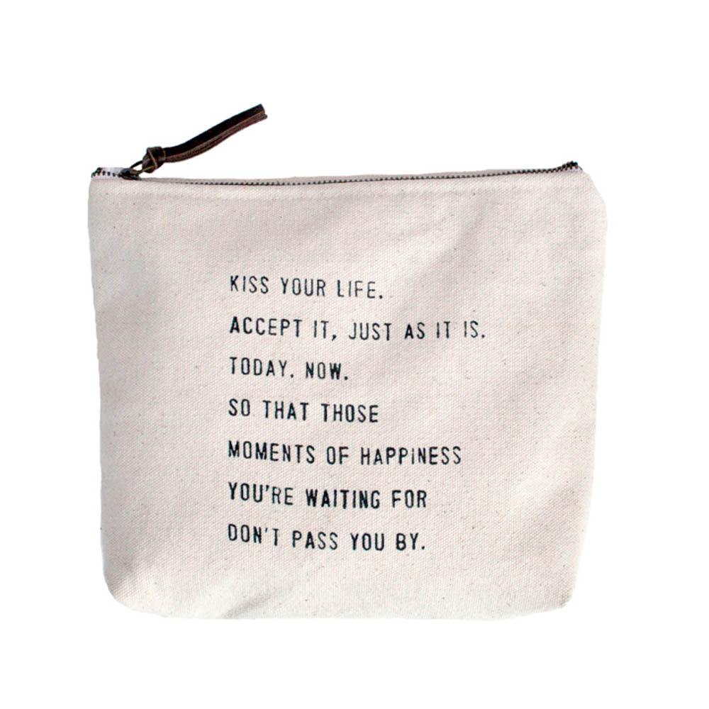 Zip Tote with Sayings